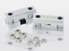 Front and rear sight riser blocks